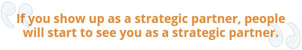 Strategic HR Partner Quote by GoDaddy