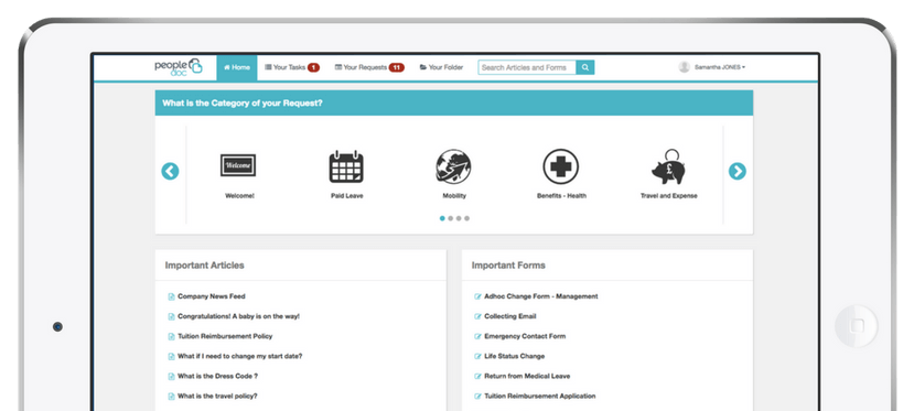 PeopleDoc HR Case Management and Knowledge Portal