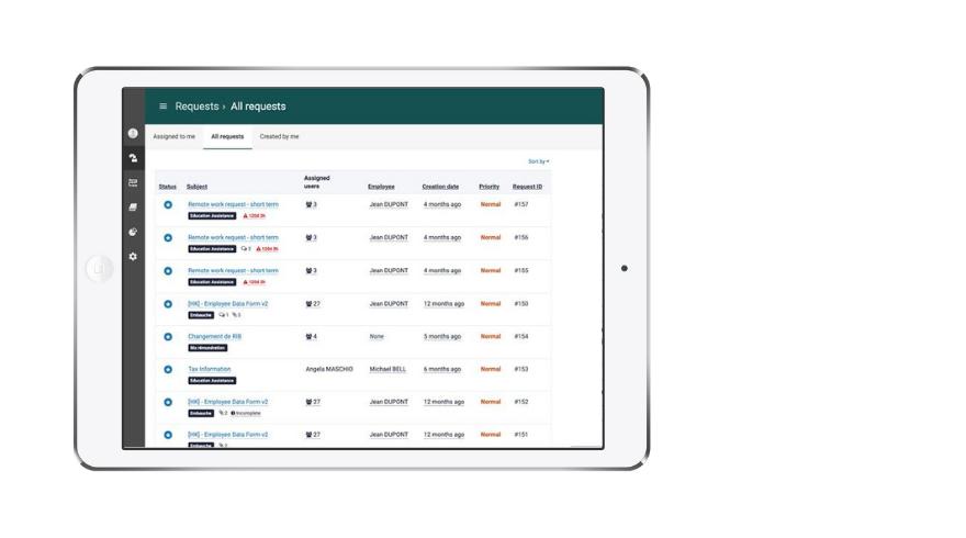 Employee-Case-Management-Solution-Screenshot