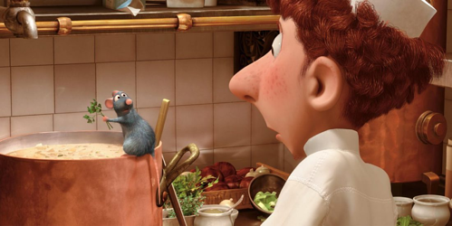 Scene from Ratatouille as example of design thinking