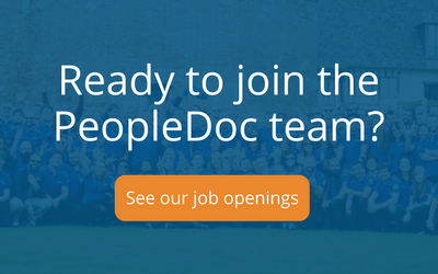 Ready to join the PeopleDoc team?